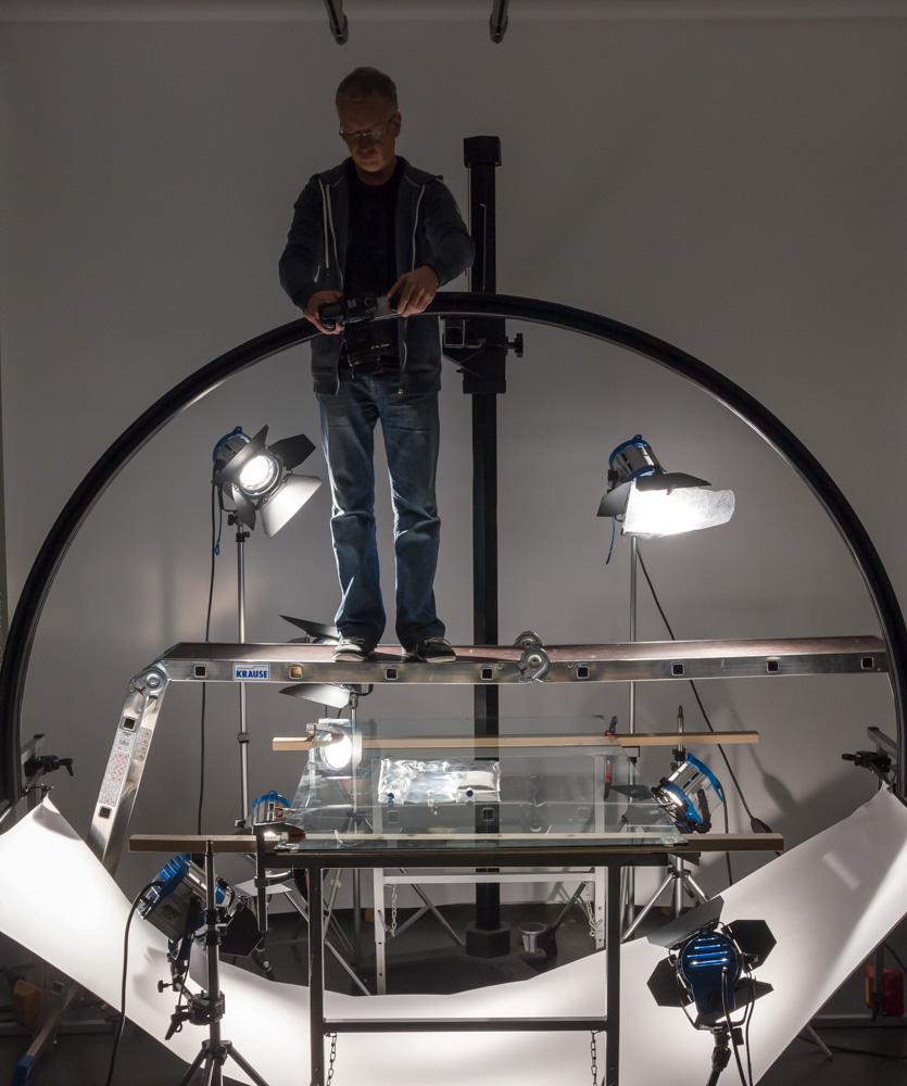 Setbau 360 Grad-Fotografie
